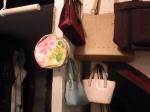 Multiple handbags
